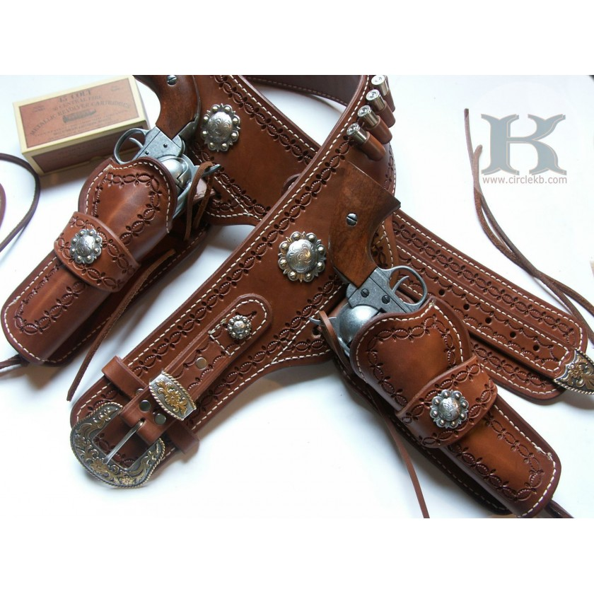 A1 Quickdraw ECHO Double Holster Rig by Brett Park Circle KB