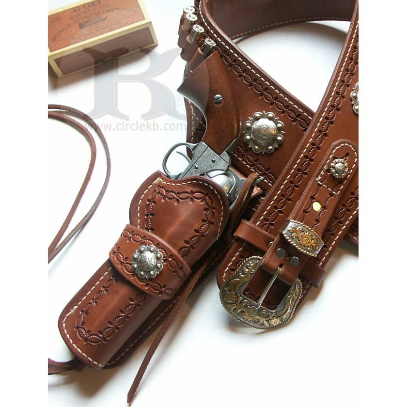 A1 Quickdraw ECHO Double Holster Rig by Brett Park Circle KB Holsters