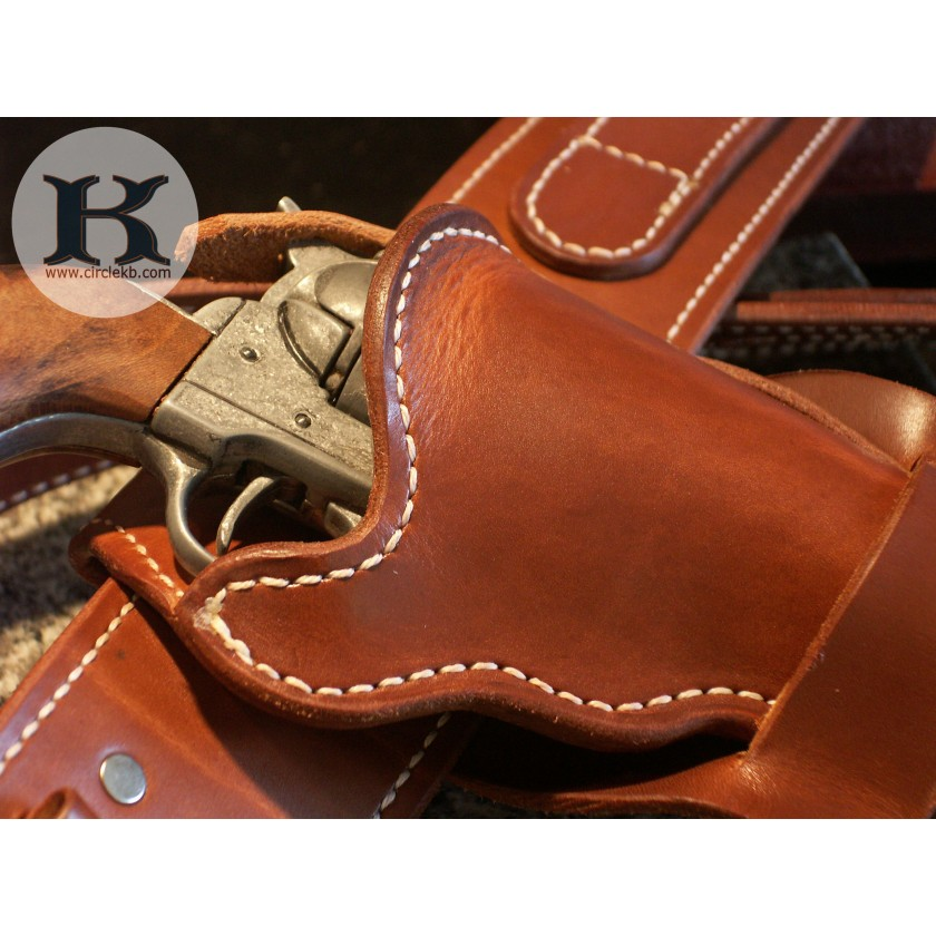 The Vaquero Mexican Double Loop CrossDraw western holsters
